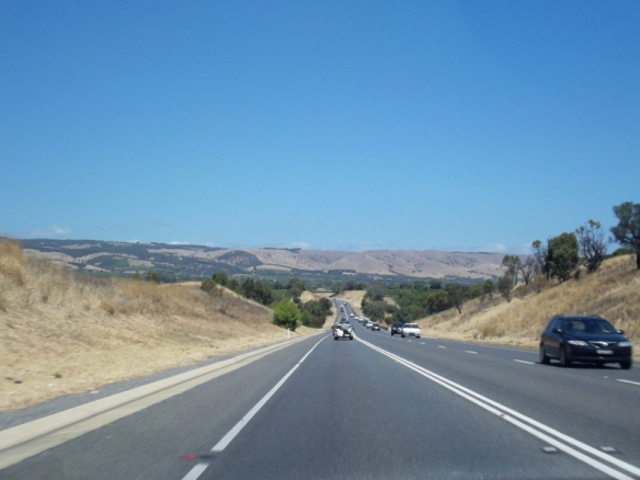 On the road to Victor Harbour.