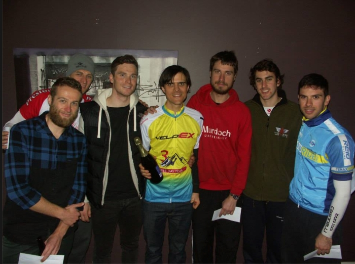 Photo: https://www.facebook.com/3daytour GC (D) L-R:  Stephen (6th), Grant (5th), Paul (2nd), me, Mario (7th), Ariel (4th), Jonathan (3rd).