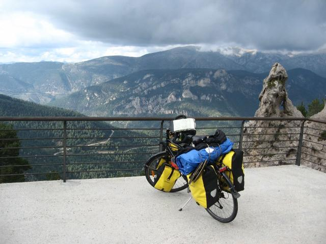 The day Claire reached the Pyrenees in 2014. Photo: Claire.