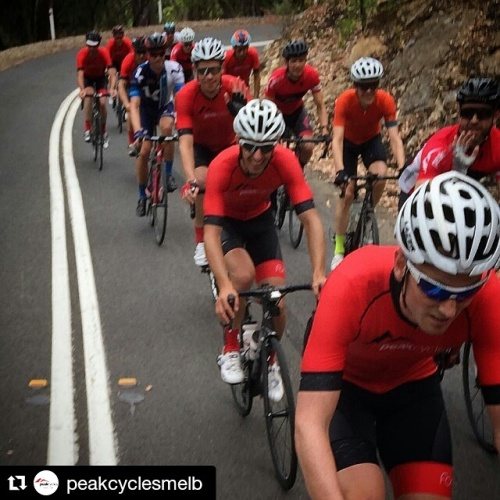 The (mostly) Red Army in the Adelaide hills.